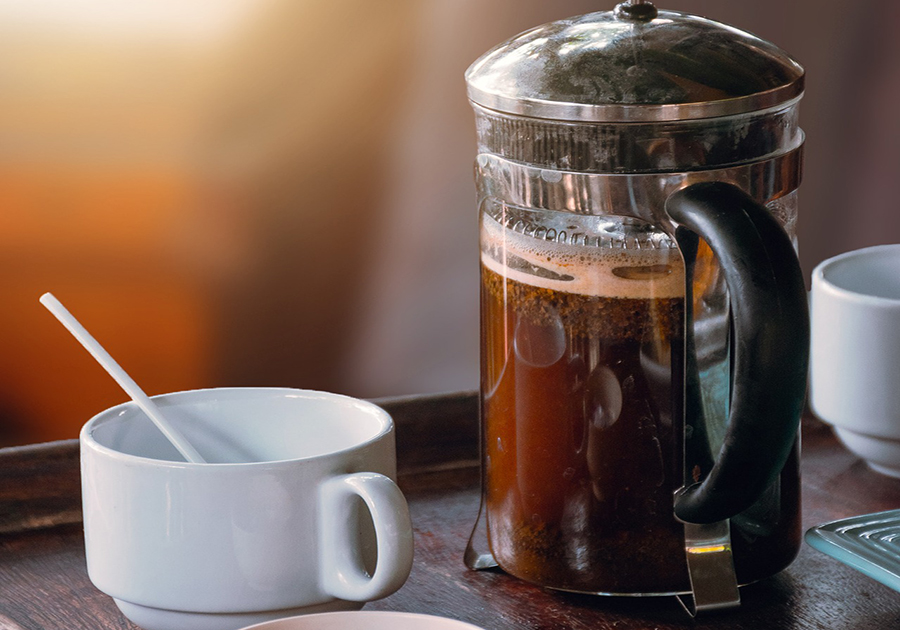 Make Coffee in a French Press